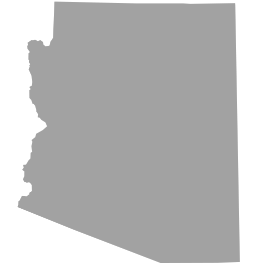 Map of OzBraz PPF installation locations in Arizona. Gilbert, Mesa, Chandler, Tempe, Phoenix, Scottsdale